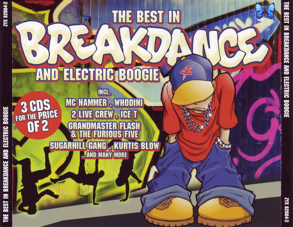 VA - The Best in Breakdance and Electric Boogie (3CDs)