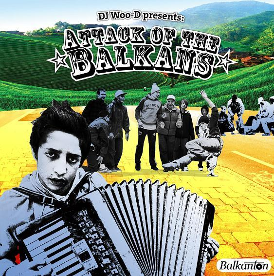 DJ Woo-D - Atack Of The Balkans